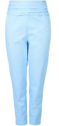 bright blue pants