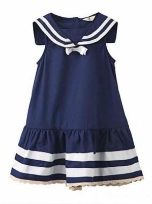 kids fashion 4---Vestidos Navy-Girl dress