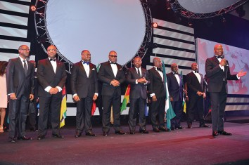 Kennedy Uzoka, GMD,CEO, and a cross section of Executive Directors