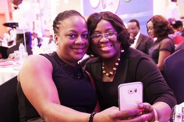 L-R: Oyiza Salu (Group Head; Human Resources GTBank) with Funke Amobi