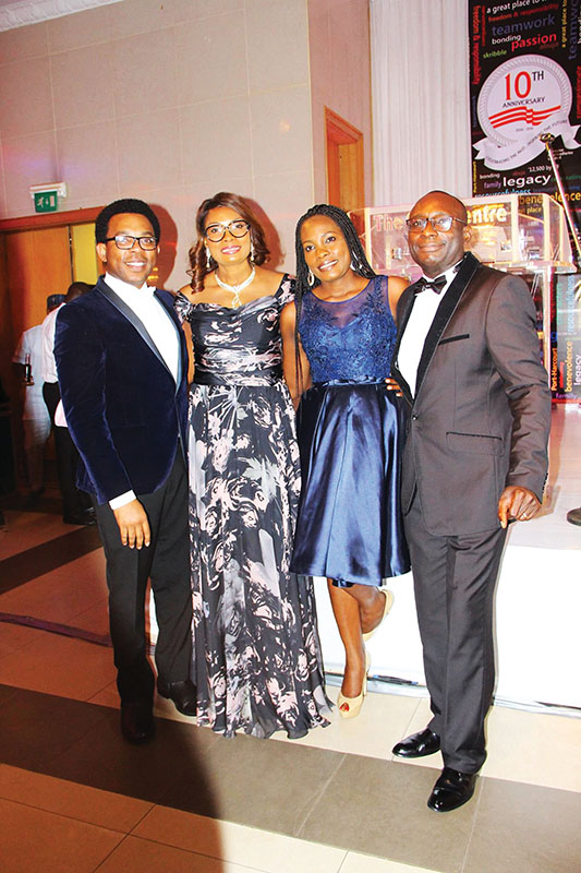L-R: Mr Adebayosoye Awonaike (MD/CEO pGNOSIS Limited), Mrs Doyinsoye Femi Johnson (Financial Controller SPOG Petrochemical limited), Mrs Nikesoye Nonye Micheals (Managing Partner Freshwood Services Limited) with Ademolasoye Awonaike