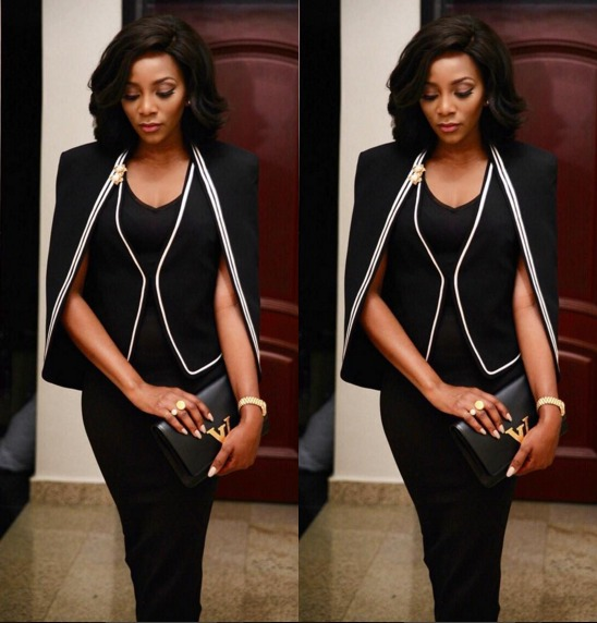 Genevieve-Nnaji-at a public function