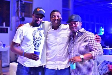 GM Brian Munro, Abayomi Ajao, and Deji Awokoya
