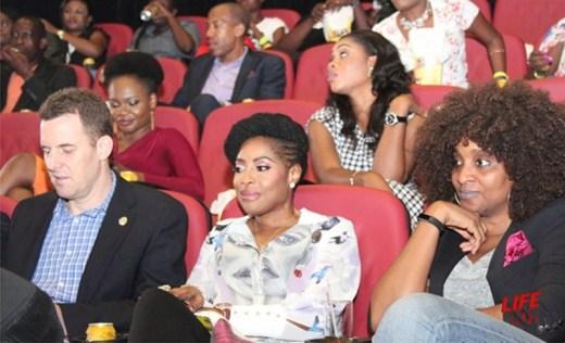 Rob Hobart , Mo Abudu and Funmi Victor Okigbo