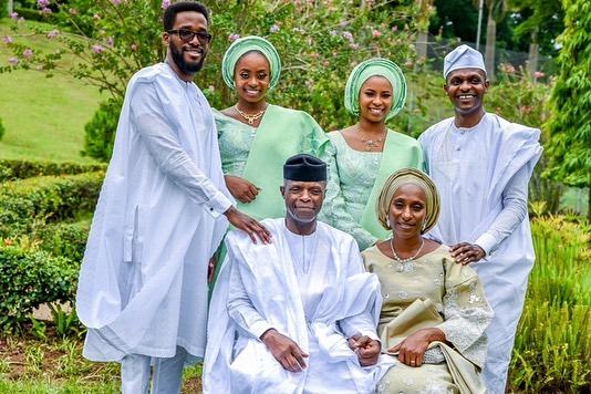 VP Yemi Osinbajo's family