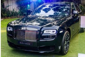 Rolls-Royce Cullinan finally berths in Nigeria.