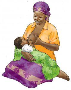 Helping nursing mothers' have pleasant breastfeeding experiences