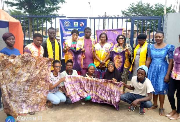 When Lagos Apex Lions Club trained Youths on Adire/Batik making