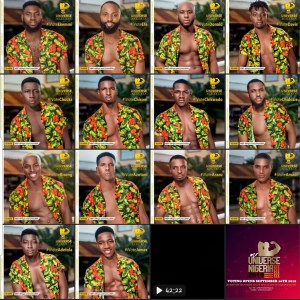 57 Mr Universe Contestants For House Of Gladiators