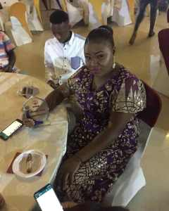 Nigerian journalist, Rita Okoye wins 'Entertainment Writer of the year 'award