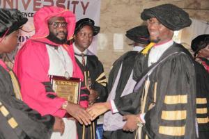 Excitement as Zekeri Mudi Usman bags honorary doctorate degree