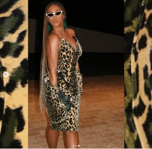 How to rock a Leopard print by Beyonce Knowles