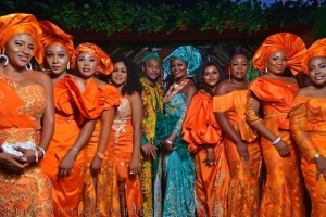 Chizzy Alichi star studded traditional wedding