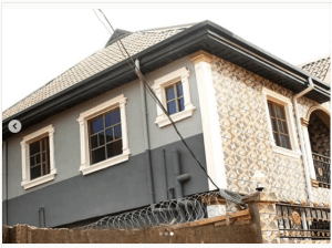 MC Olofin shows off his wife's newly completed house