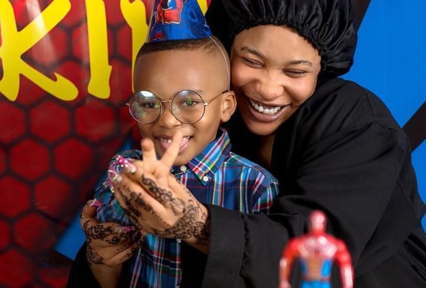 Tonto Dike celebrates son as he turns four today