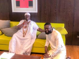 Fashion Designer, Yomi Makun honoured by Ooni of Ife