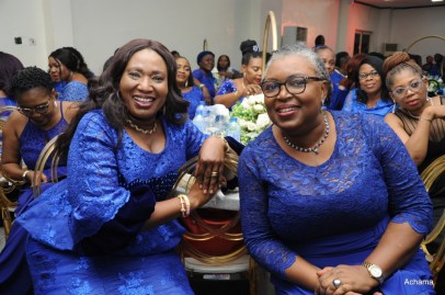Esther Oyero and Biodun Soremekun