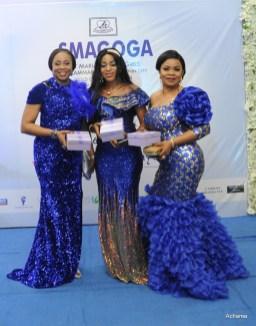 L- R Ijeoma Isiolu,Joy Efosa, Deborah Balogun