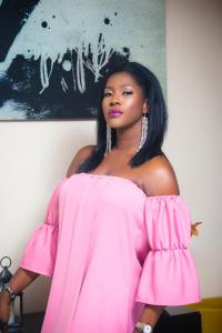 Allure Cover: Stephanie Okereke Linus - Proudly Nollywood
