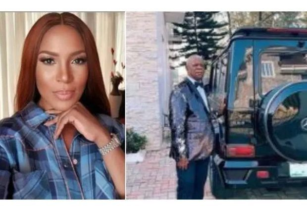 Linda Ikeji for buying her father Gwagon worth N55 million