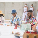 Beach is better group x Martell Nigeria host oasis experience