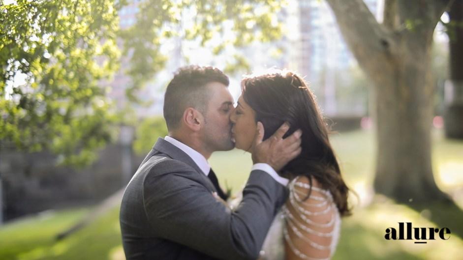 Marisa & Vince - Metropolis wedding video - allure productions wedding film -
