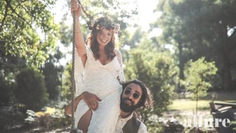 Nicole & Denis - Log Cabin Ranch Wedding video - Allure Wedding Films 3