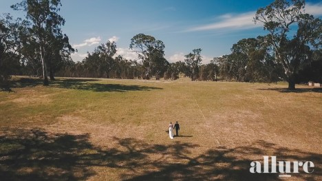 Jessica & Mitchell - Seppelts Winery - Ballarat Wedding - Allure Productions -_-13