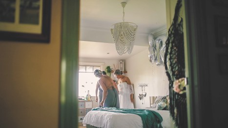 Chantelle and Brent - Private Property Wedding - Allure Productions wedding films 4