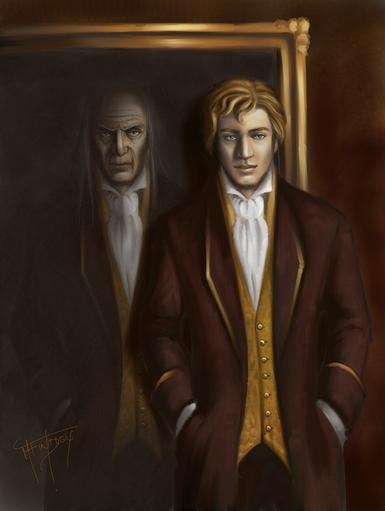 Portrait Of Dorian Gray painting by Mercuralis - Medical Symptoms Named After Literary Characters