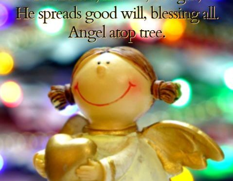Angel, #Christmas #Haiku via @PatFurstenberg