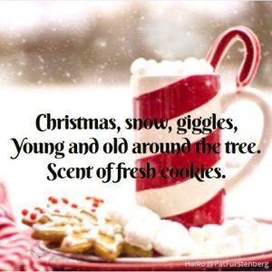 Cookies, Christmas Haiku