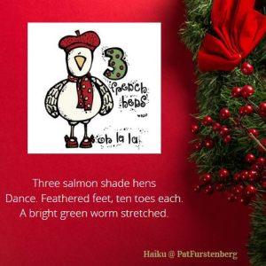 3rd day of Christmas, 3rd Day of Christmas Haiku, Three French Hens