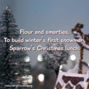 Gingerbread Man, Christmas Haiku