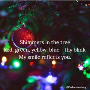 Christmas Lights, a Sunday Haiku: Haiku-San. Tradition, joy, glory, smiles and laughter at winter time.