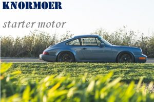 Knormoer - Growl nut - starter motor