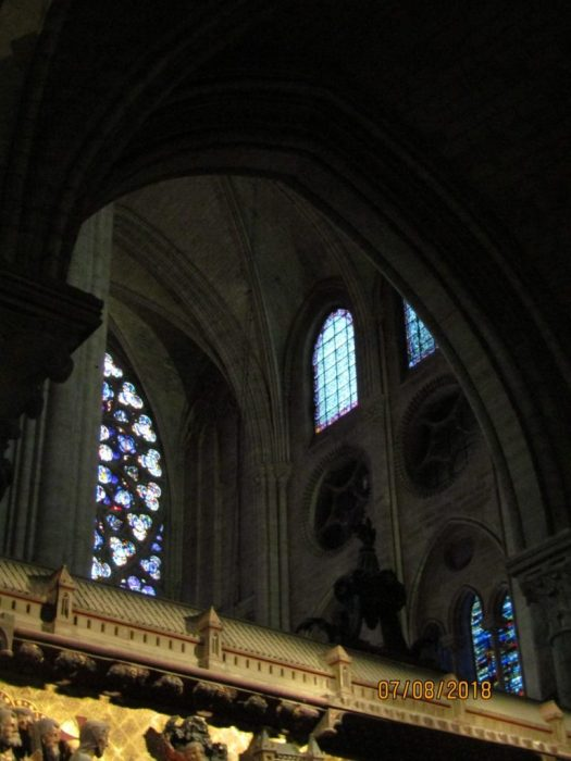Notre Dame Cathedral - interior 1- photo by Lysandra Furstenberg