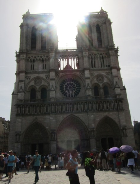 Notre Dame Cathedral under sunlight - photo by Lysandra Furstenberg