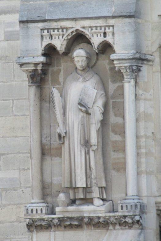 Saint Stephen -Notre Dame Cathedral - photo by Lysandra Furstenberg