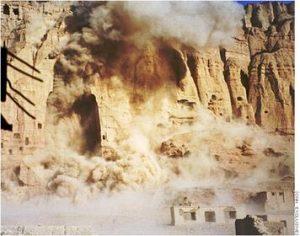 Destruction of Buddhas March 21 2001. Source Wikipedia