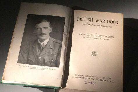 British War Dogs, Lt-Col Richardson  -source ABC Australia