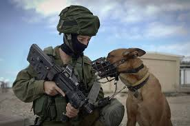 """Oketz"" is a special forces unit where man and his best friend serve together."
