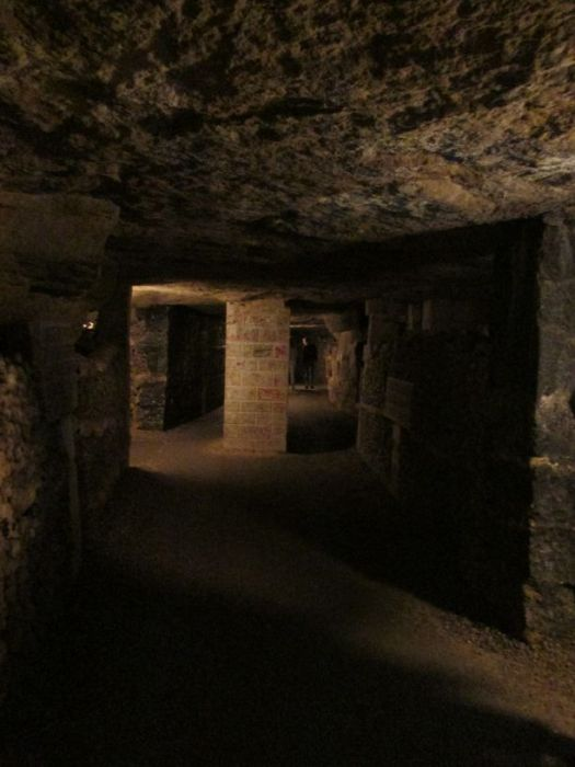 Catacombs of Paris, a real maize
