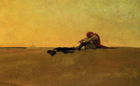Marooned by Howard Pyle, Public Domain. Maroons Autumn's chocolates