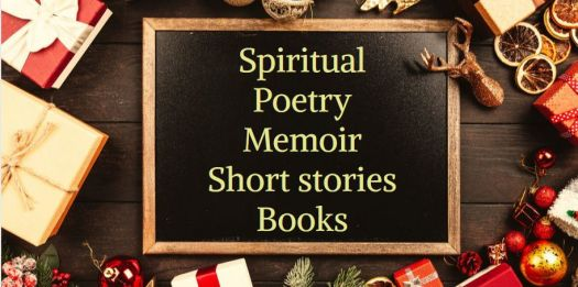 Spiritual, poetry, memoir, short story books. gift ideas, feed your kindle  Books Christmas gift ideas feed your kindle