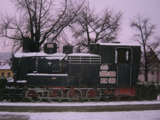 Sighisoara steam engine old