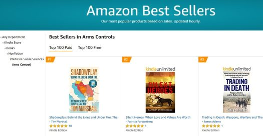 Silent Heroes #2 in Arms Control - how is my writing different in my genre