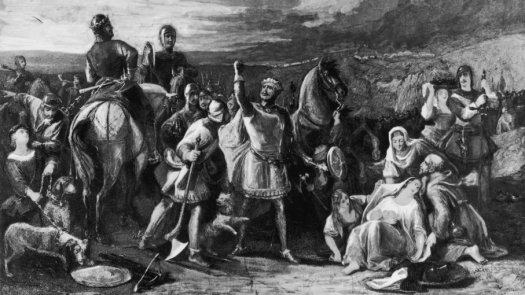 Donnchadh, the faithful dog who saved the life of King Robert the Bruce of Scotland, 10 Dogs Who Made and Changed History