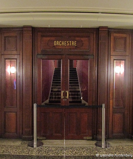Paris Opera House, Orchestre door