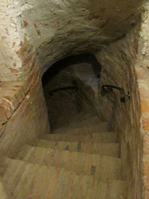 Travel to Făgăraș Fortress, Romania for a secret passage